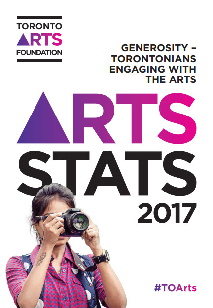 Cover of Arts Stats 2017 with text